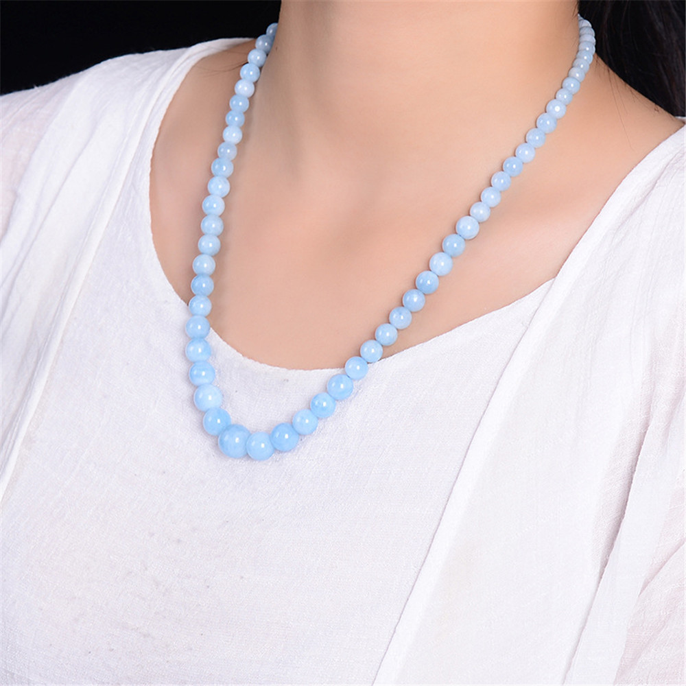 Aquamarine Necklace Chains (3)