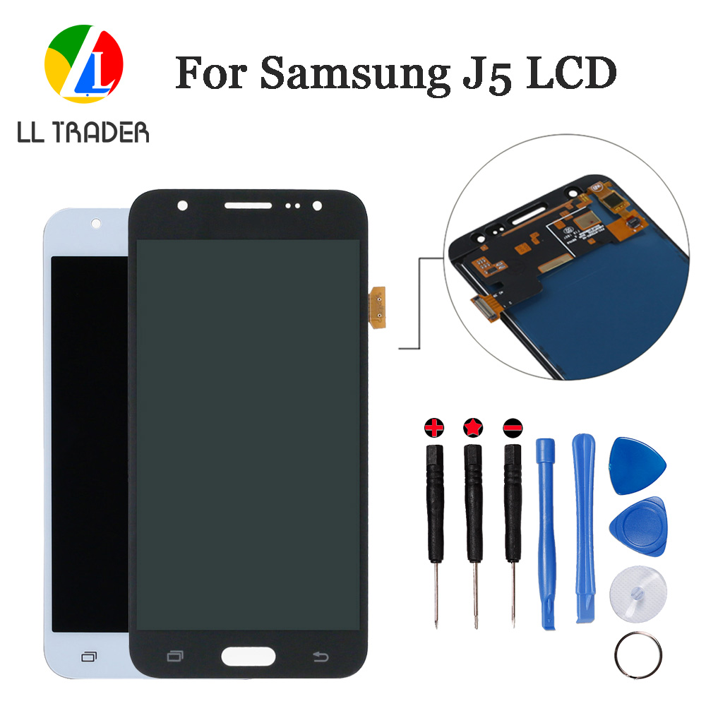 LL TRADER Grade AAA LCD Assembly For Samsung Galaxy J5 <font><b>J500</b></font> Touch Screen Replacement Galaxy J5 LCD <font><b>Display</b></font> Panel Digitizer+Tools image