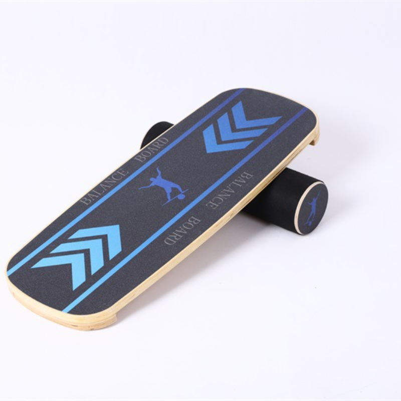 Surfing Skiing Wood Surf Balance Board Roller Wooden Home Fitness Training Yoga Sports Wooden Yoga Board