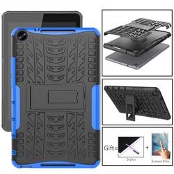 Coque blindée 8.0/10.1 pouces, pour Huawei Mediapad M3 M5 Lite, Mediapad T3 T5 8/9.6/10.1 pouces, TPU + PC, coque antichoc