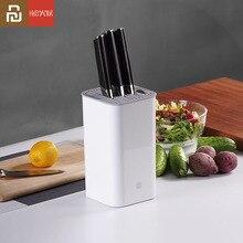 Original Youpin Huohou มีดครัวผู้ถือ Multifunctional Storage Rack ผู้ถือเครื่องมือมีดขาตั้งอุปกรณ์ครัว