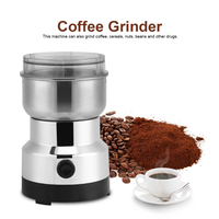 150W 300ml Electric Coffee Grinder Maker Beans Mill Herbs NutsFor Home Kitchen Office Stainless Steel 220V Home Use Coffee Maker