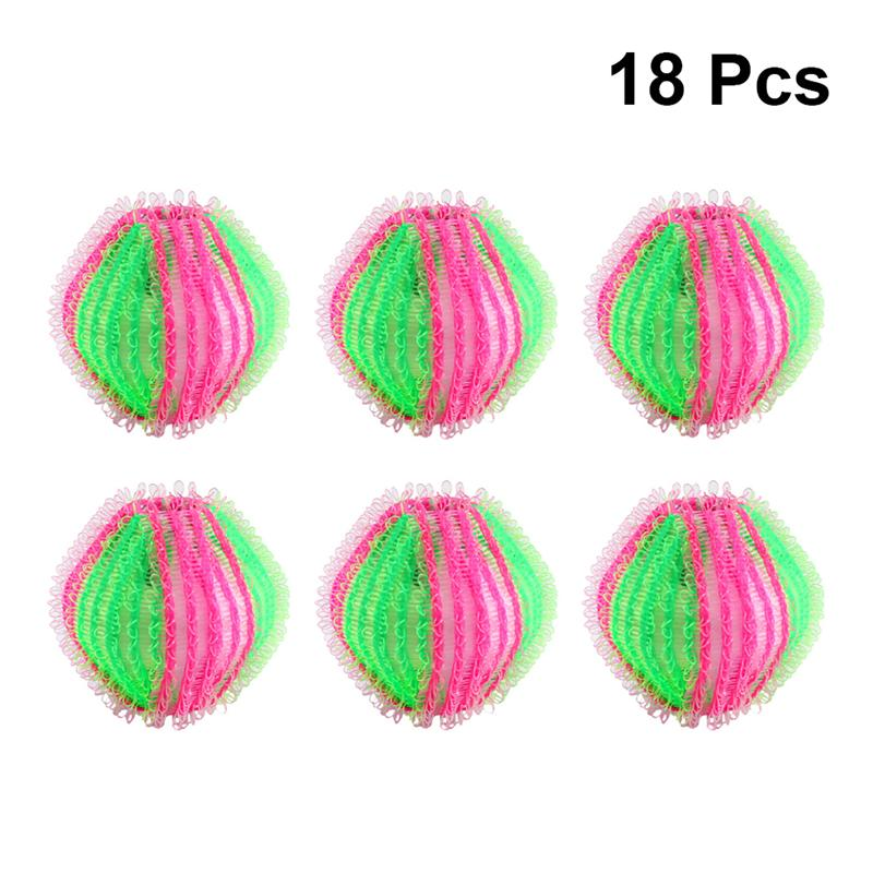 18pcs Pet Hair Removal Laundry Ball Washing Machine Balls Practical Cleaning Clothes Tool For Home Dog Cat Hair Cleaning