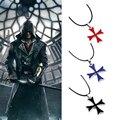 Мужская винтажная подвеска Altair Ezio Connor, ожерелье из нержавеющей стали, Рыцаря тамплиера, Железный крест