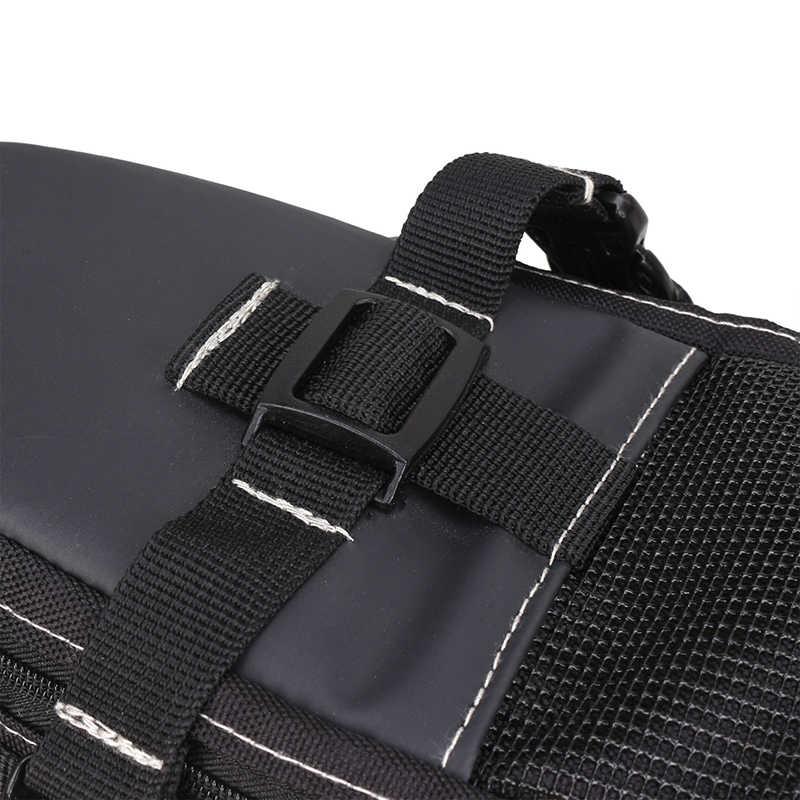 Bolsa de equipaje de bicicleta B-SOUL de 12L, asiento trasero de bicicleta de gran capacidad, bolsas de almacenamiento impermeables, pinzas de embalaje traseras para ciclismo