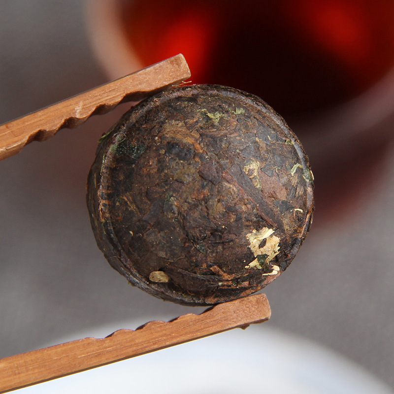 100g/jar The Oldest Pu'er Tea Chinese Yunnan Glutinous Rice Ripe Tea Green Food for Health Care Weight Lose 2