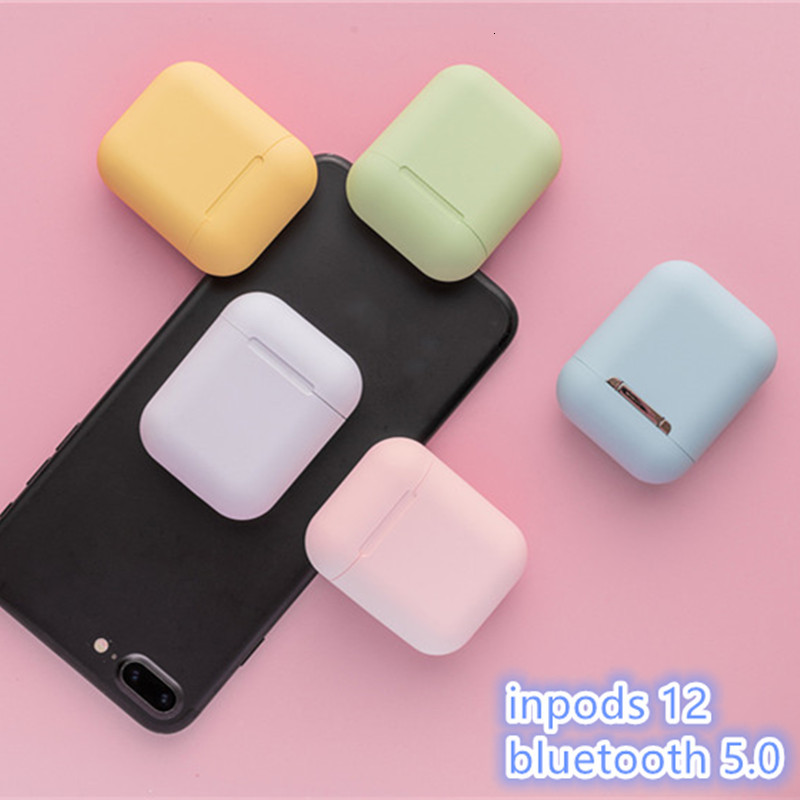 Inpods12 <font><b>Wireless</b></font> <font><b>Earphones</b></font> Touch Key <font><b>Mini</b></font> <font><b>Bluetooth</b></font> <font><b>5.0</b></font> <font><b>Earphone</b></font> <font><b>I12</b></font> <font><b>TWS</b></font> Headset For Android Xiaomi Iphone <font><b>Smart</b></font> Phone Headsets image