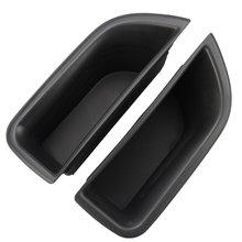 Автомобильная Передняя дверная ручка подлокотник контейнер держатель