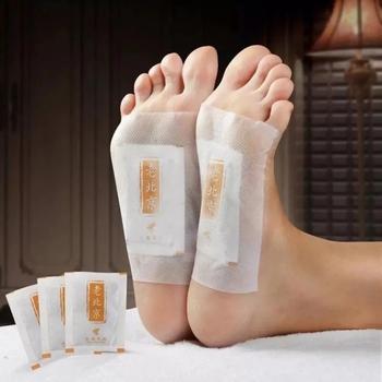 10 sztuk imbir rewitalizujący Detox Foot Patch odchudzanie Foot Patch poprawić snu anti-obrzęk Detox stary pekin Foot Patch tanie i dobre opinie OLOEY COMBO Opatrunek do stóp CN (pochodzenie) 10pcs stopy CHINA GZTZ GZ345345
