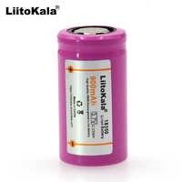 2019 Liitokala ICR 18350 lithium-batterie 900mAh akku 3,7 V power zylindrischen lampen elektronische zigarette rauchen