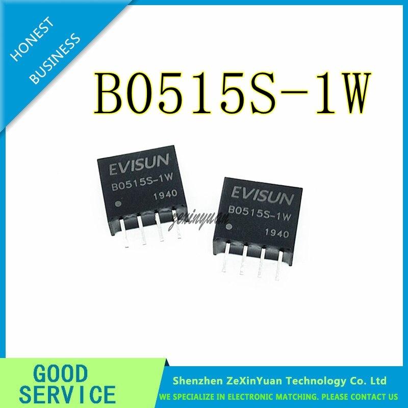 5PCS 10PCS 20PCS B0515S-1W B0515S SIP-4 NEW DC-dc Booster Power Module 5V Liter 15V