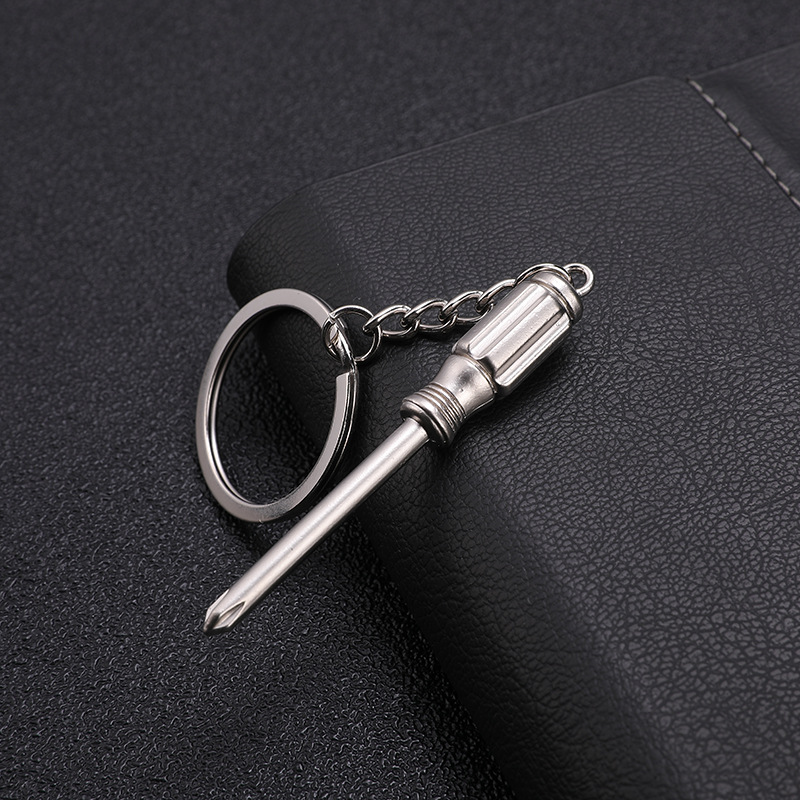 Portachiavi portachiavi con mini portachiavi regolabile in metallo creativo #Pennytupu