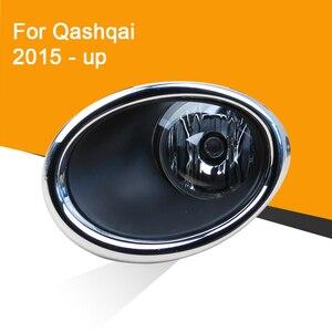 1 Xe Ô Tô 12V Đèn Sương Mù Hội Với Sương Mù Chrome Có Và Dây Tiếp Nút Công Tắc Cho Xe Nissan qashqai 2015 2016
