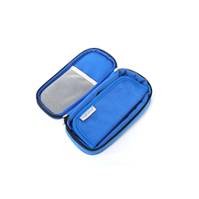 Insulin Cooler Bag Portable Travel Insulin Cooler Refrigerator Bag Aluminum Film Insulin Bag Oxford Cloth Waterproof Storage Box insulin refrigerator cooler medical travel insulin storage box cool case bag medicine interferon insulin pen small refrigerator