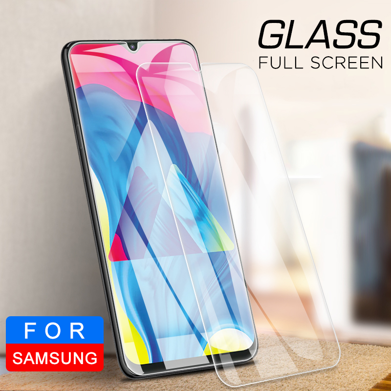 Image 3 - Tempered Glass For Samsung Galaxy A50 A30 A20E A40S M30 M20 M10 Screen Protector Glass On A 10 20 40 60 70 80 90 Protective Film-in Phone Screen Protectors from Cellphones & Telecommunications