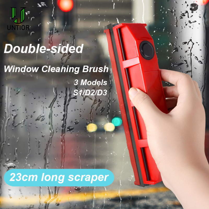 UNTIOR Magnetic Window Cleaner Portable Wipe Glass Cleaning Tools Household Glass Wiper for Double Side Window Cleaning Brush-in Cleaning Brushes from Home & Garden