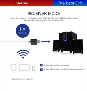 Image 4 - DISOUR 5.0 USB Bluetooth Trasmettitore Ricevitore TV Mini 3 IN 1 3.5 MILLIMETRI AUX HIFI Audio Stereo Senza Fili Adattatore Dongle per il Kit Auto PC