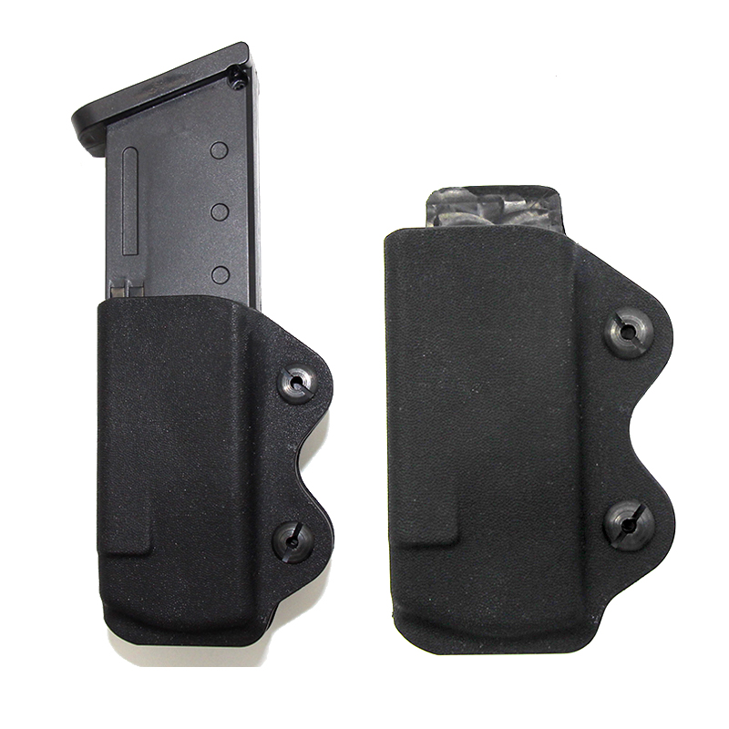 Tactical Kydex IWB Magazine Pouch For <font><b>Glock</b></font> 17 19 26 23 27 31 32 Airsoft <font><b>9MM</b></font> Pistol Mag Pouch <font><b>Gun</b></font> Clip Concealed Carry Holster image