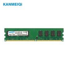 brand new ddr2 800 mhz pc2 6400 16gb 4x4gb memoria ram for desktop ram compatible intel and amd mobo lifetime warranty KANMEIQi DDR2 2GB Ram 800MHz PC2-6400U Desktop PC DIMM Memory 667MHz 240pin For AMD Intel Compatible