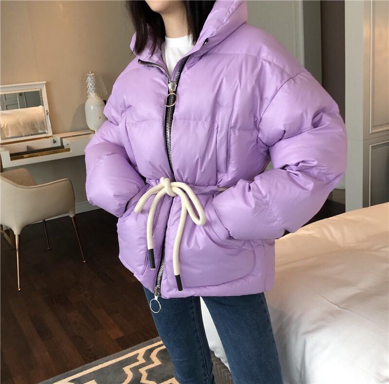 2019 de lujo nueva chaqueta de alta calidad para mujer, abrigo de ganador, chaqueta de abrigo, ropa informal para mujer, 2 colores, gdnz 9,02-in chaquetas básicas from Ropa de mujer    3