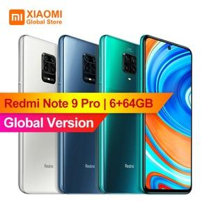 Global Version Xiaomi Redmi Note 9 Pro 6GB 64GB NFC Smartphone 6.67
