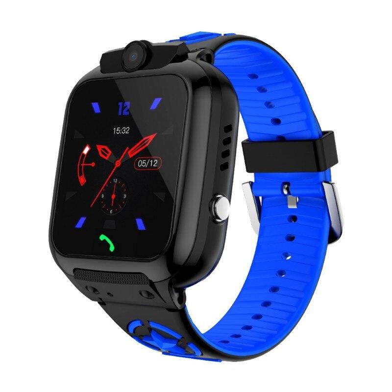 DS74 Children's Smart Watch LBS + WIFI Position Kids Smartwatch Waterproof SOS Anti-lost 2G SIM Card Baby Camera Smart Watch