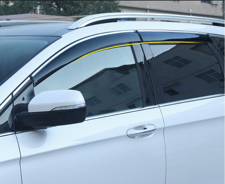 for Ford New Mondeo Rain Shield Special Window Rain Eyebrow Gear 13 18 Rain Shield Bar Decorative Accessories