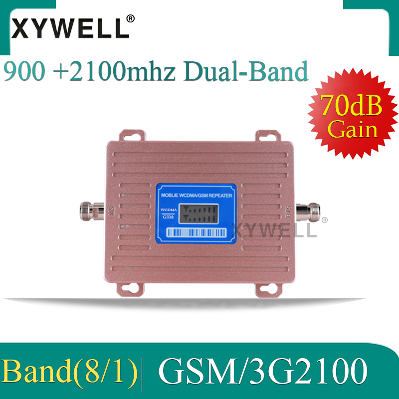 3g Signal Booster 900 2100 2g 3g Mobile Signal Booster Dual Band Repeater 2g 3g Repeater Gsm Signal Booster 3g Amplifier