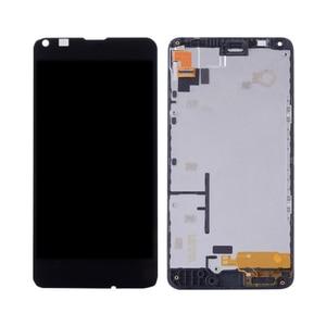 Image 5 - מקורי עבור NOKIA Microsoft Lumia 640 LCD מסך מגע Digitizer עצרת עבור Nokia Lumia 640 withFrame תצוגת RM 1075 RM 1077