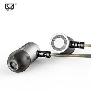 Image 5 - KZ ED4 المعادن ستيريو سماعة عزل الضوضاء في الأذن الموسيقى سماعات الأذن مع الميكروفون للهاتف المحمول MP3 MP4
