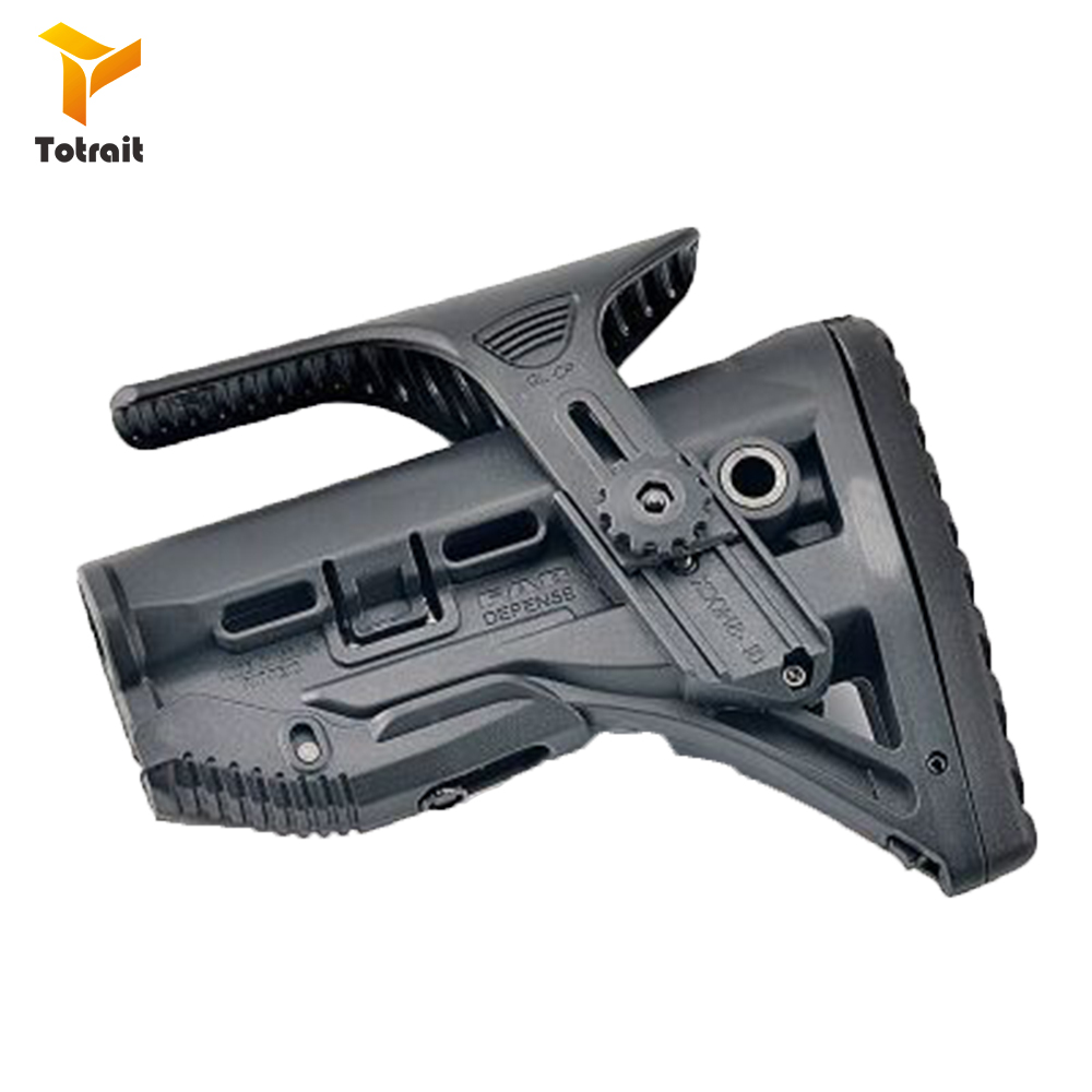 TOtrait Tactical Nylon Adjustable Extended Stock For Paintball Accessories Airsoft AEG M4 Gel Blaster J8 J9 CS Sports