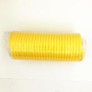 Image 3 - Manguera de PE telescópica de 7,5 M, tubo de manguera de aire neumática, peaje de compresor de aire con conector rápido europeo macho y hembra