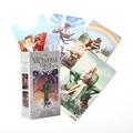 Umgekehrt Tarot Karten Deck und Reiseführer Karte Fate Divination Spiel Tarot Deck Für Party Urlaub Geschenk Bord Spiele