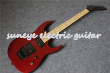 Custom Shop Metal Red Finish Jacks Style Electric Guitar Solid Mahogany Guitar Body & Kit Custom Available