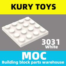 Kury Toys DIY MOC For 3031 Building block parts For Plate 4 x 4 For Plate
