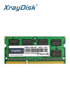 Laptop Memory Sodimm Notebook Ram DDR3 1600mhz Xraydisk 8GB 204pin 4GB