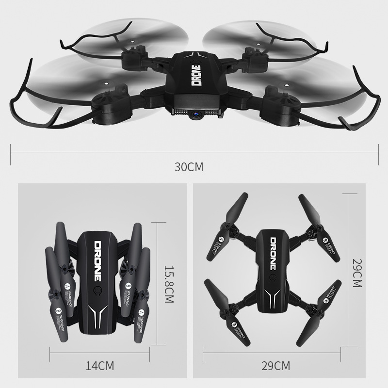 Zhi Xiang Folding Unmanned Aerial Vehicle High-definition Aerial Photography Small Aircraft Children Young STUDENT'S Remote Cont