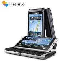 Nokia E7 yenilenmiş-orijinal NOKIA E7 cep telefonu kilidi 3G wifi akıllı telefon için yenilenmiş dokunmatik ekran ücretsiz kargo