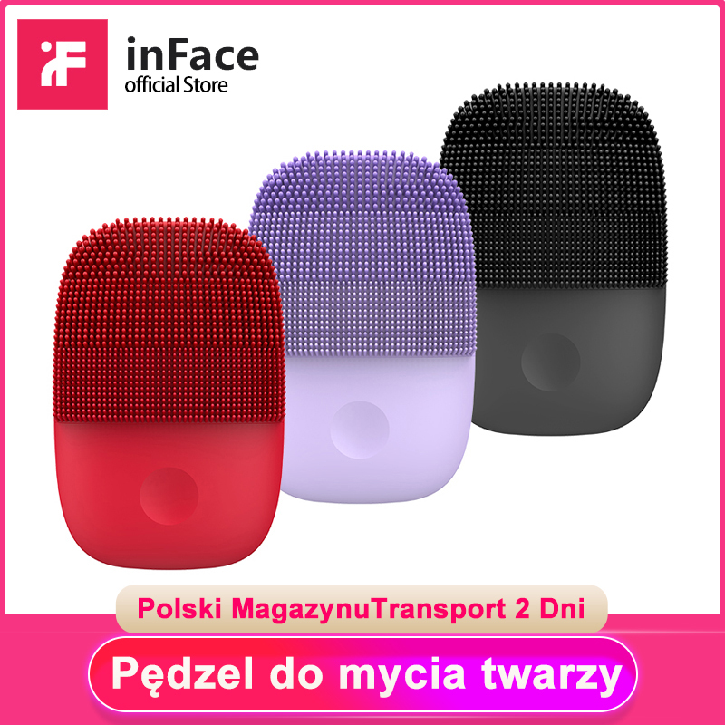 Inface Electric Sonic Facial Cleansing Brush Deep Cleaning Face Brush Upgrade Version Face Cleaning Tool For Xiaomi Supply Chain-in Powered Facial Cleansing Devices from Home Appliances