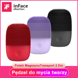Inface Electric Sonic Facial Cleansing Brush Deep Cleaning Face Brush Upgrade Version Face Cleaning Tool For Xiaomi Supply Chain