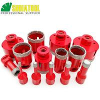 DIATOOL 1pc Vacuum Brazed Diamond Drilling Core Bits With M14 Connection Drill Bits 10MM Diamond Height Hole Saw