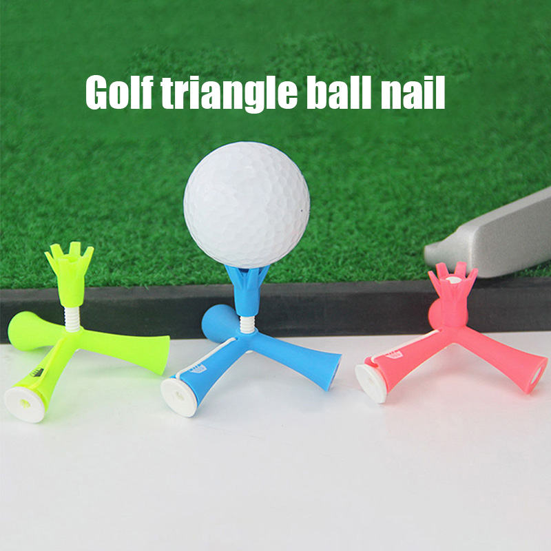 Golf Nails Adjustable Anti-flying Telescopic Ball Fork 3 Colors For Golf Products BB55