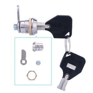 Plastic Material 1PCS JET Cam Cylinder Locks Door Cabinet Mailbox Cabinet Drawer Locker Security Furniture Locks With Keys
