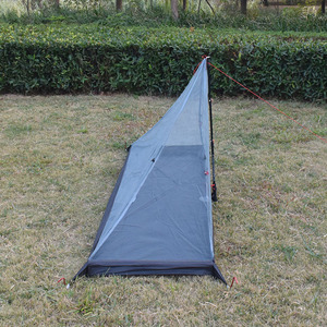 Image 5 - 340 grams 3 seasons T doors design strut corner Ultra light  outdoor camping tent fit most pyramid tent