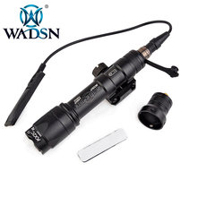 Wadsn Surefir Airsoft M600 Tactical Light Scout Led di 340 Lumen di Pressione a Distanza Interruttore M600C Fucile Torcia EX072 Luci per Armi(China)