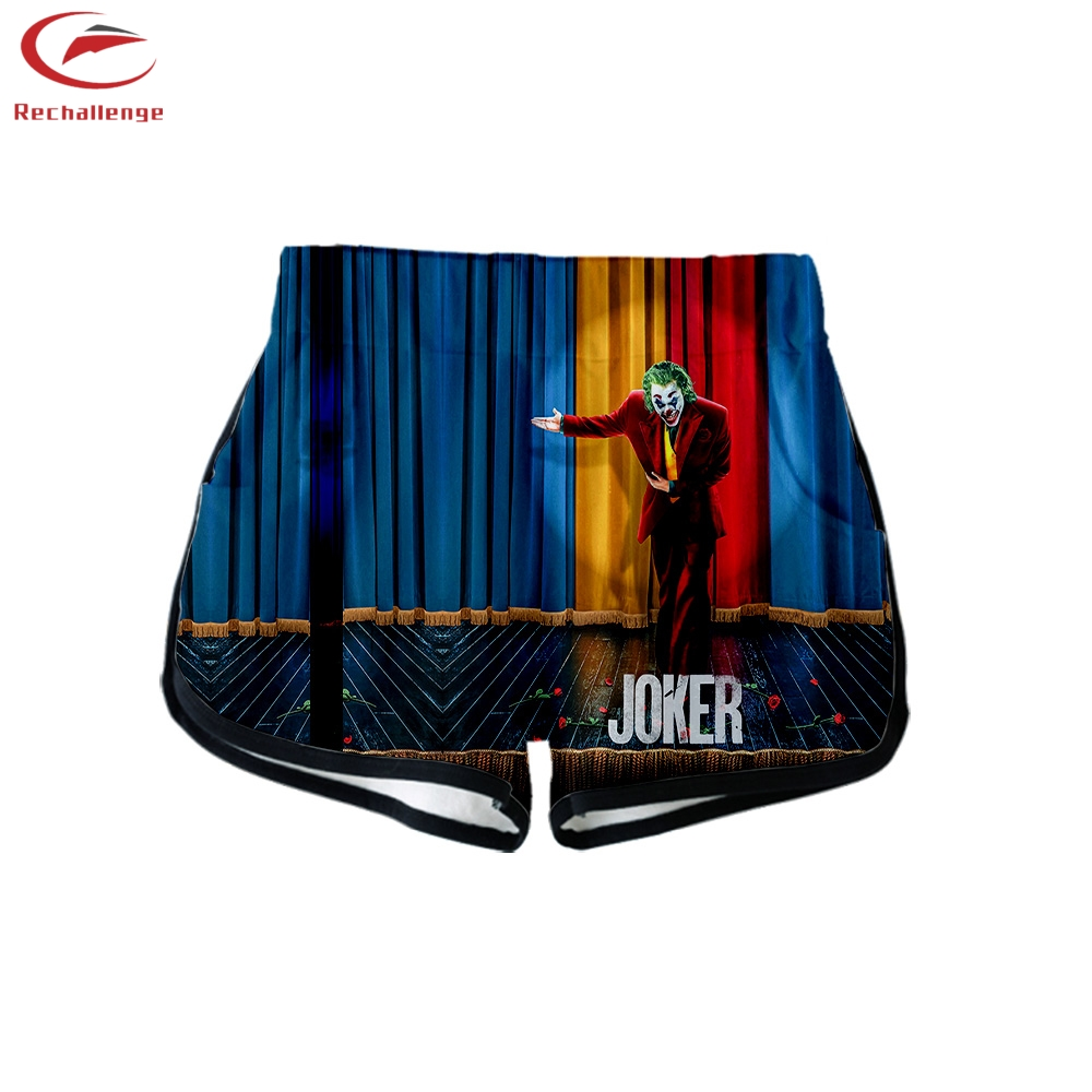 Joker 2020 Women's Fashion Short Top + Shorts Trend Joker Women's New 3D Sports Crop Top + Shorts
