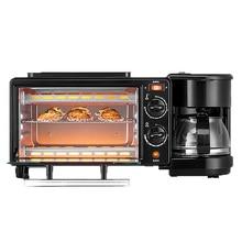 Breakfast-Machine Oven Coffee-Pot Fried-Egg/coffee-Cooker 600w 3-In-1 Teppanyaki 750w