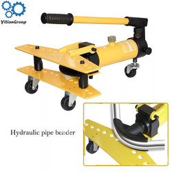 Stainless steel manual hydraulic thickening pipe elbow zinc pipe iron pipe steel pipe small pipe bender