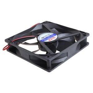 Image 3 - 12cm haute vitesse ordinateur DC 12V 2Pin PC boîtier système hydraulique ventilateur de refroidissement 12025