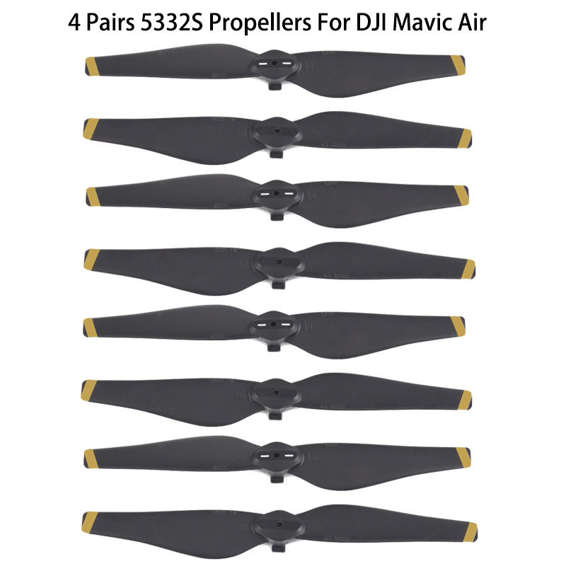 2 Pair/4 pair 8 pcs 5332s DJI Mavic Air Propeller propellers Blade prop for DJI Mavic Air Drone Accessories